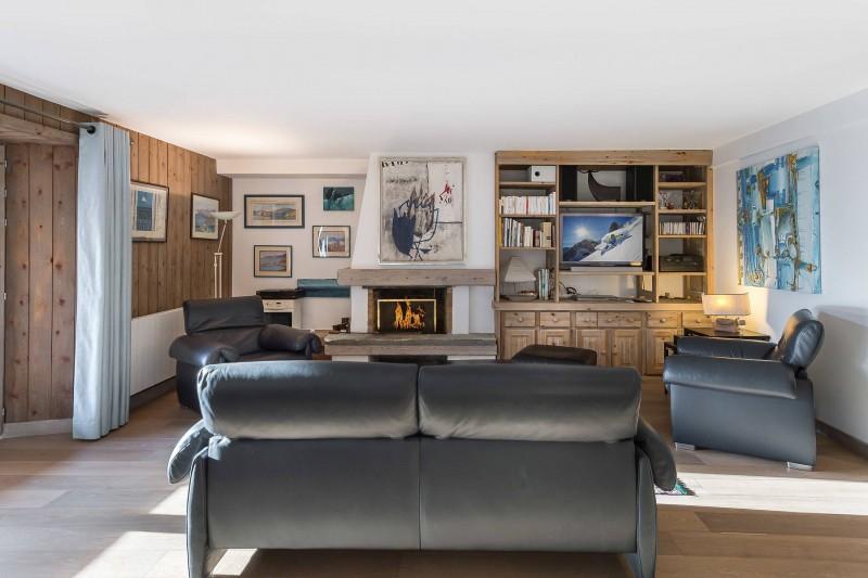 Val d'Isère Location Appartement Luxe Vitali Séjour