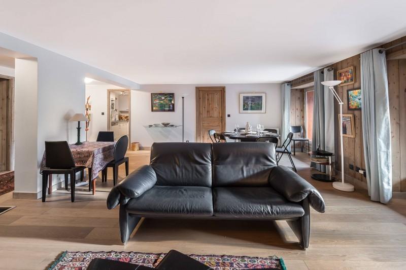 Val d'Isère Location Appartement Luxe Vitali Séjour 2