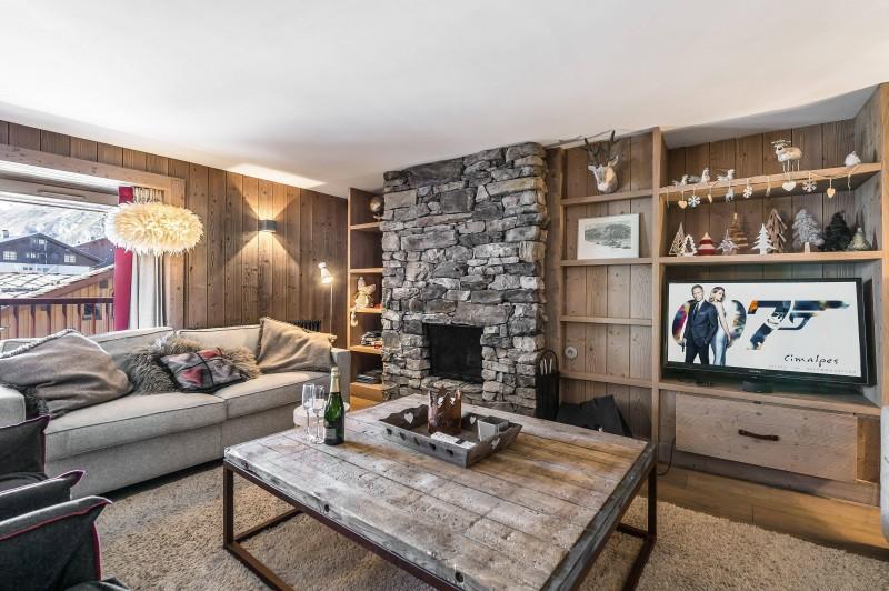 Val d'Isère Location Appartement Luxe Viteli  Séjour 2