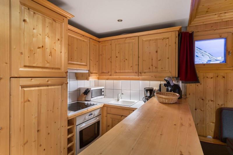 Val d'Isère Luxury Rental Appartment Vitolan Kitchen