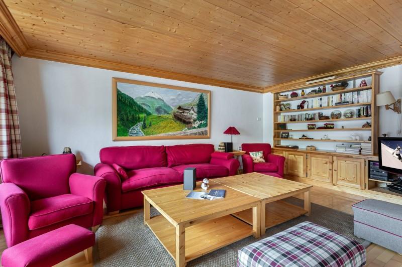 Val d'Isère Location Appartement Luxe Vitolan Séjour 2