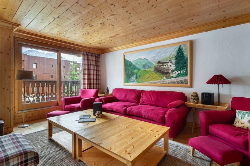 Val d'Isère Location Appartement Luxe Vitolan Séjour 4