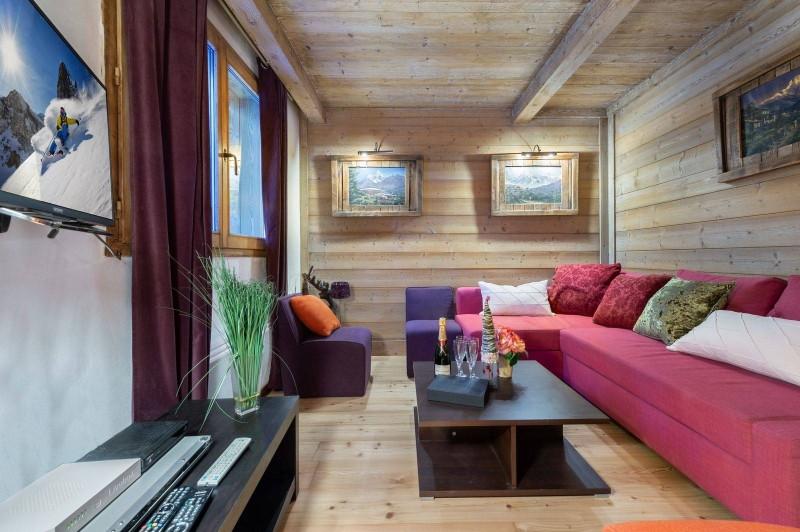 Val d'Isère Location Appartement Luxe Vizir Séjour