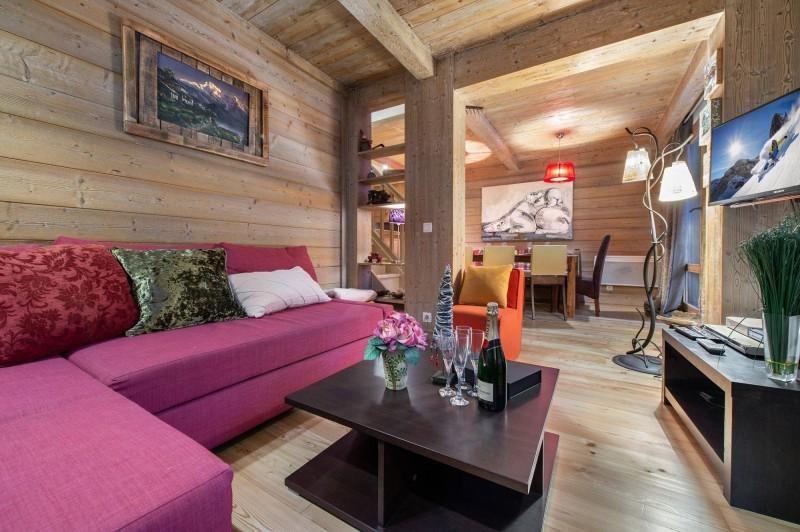 Val d'Isère Location Appartement Luxe Vizir Séjour 2