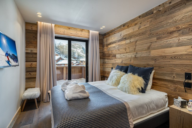 Val D'Isère Location Chalet Luxe Amazonite Chambre 3
