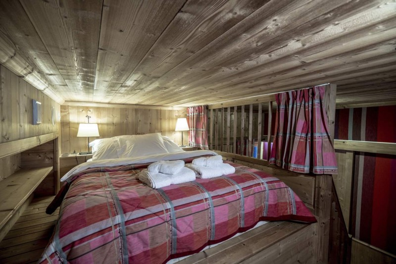 Val d'Isère Location Chalet Luxe Grenat Almandin Chambre 3