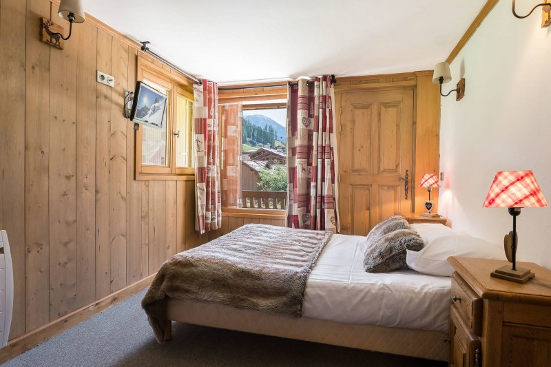 Val d'Isère Location Chalet Luxe Jaden Chambre
