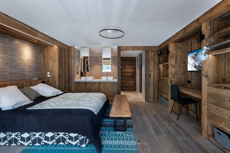 Val d'Isère Location Chalet Luxe Tellanche  Chambre 2