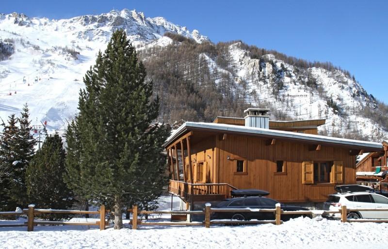 Val d'Isère Location Chalet Luxe Ulexite Exterieur