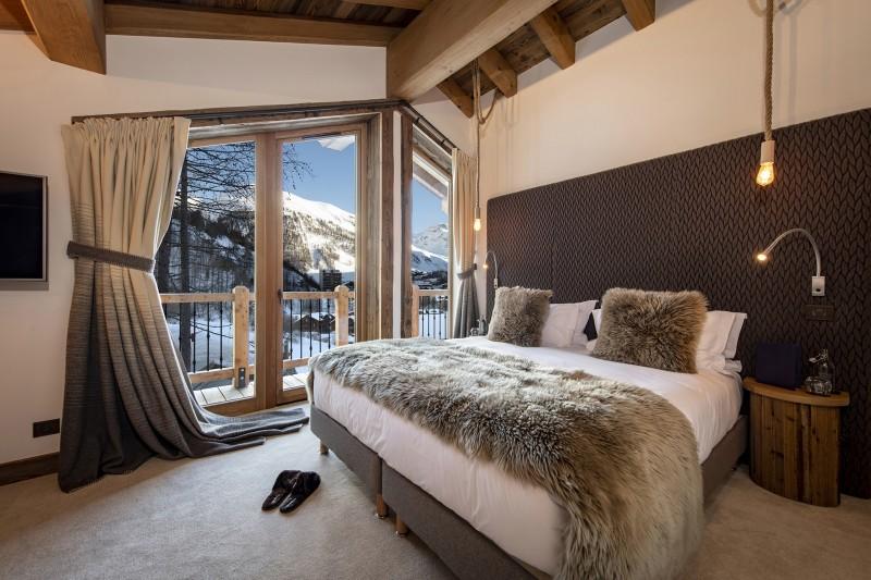 Val D'Isère Luxury Rental Chalet Umbate Bedroom 5