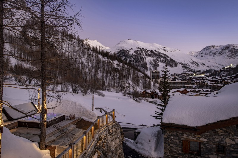Val D'Isère Luxury Rental Chalet Umbate View