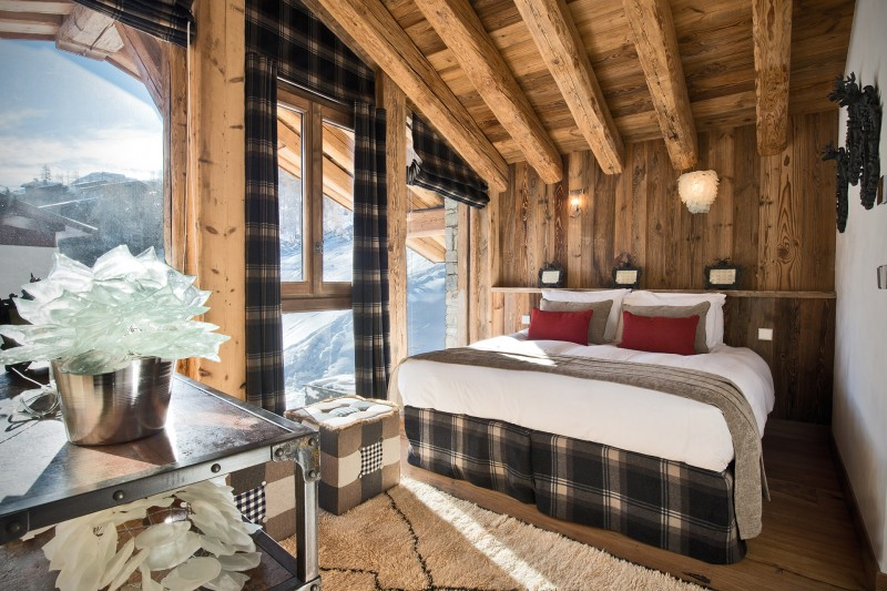 Val D'Isère Location Chalet Luxe Umbite Chambre 4