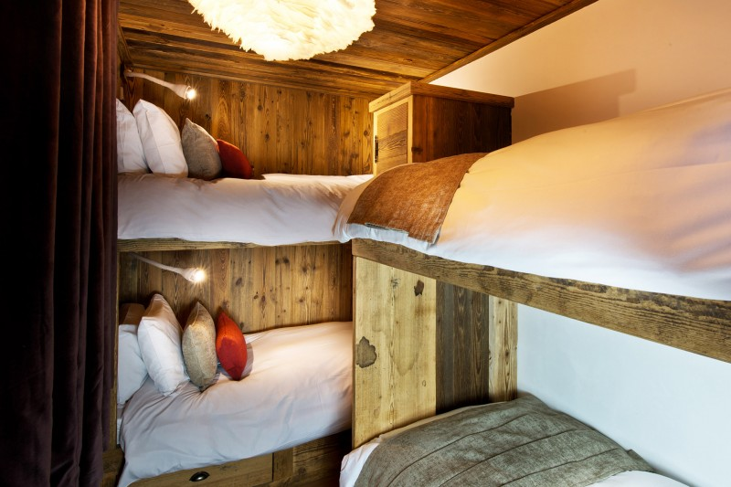 Val D'Isère Location Chalet Luxe Umbite Chambre 5