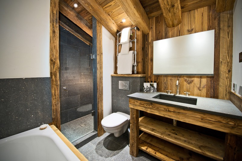 Val D'Isère Location Chalet Luxe Umbite Salle De Bain