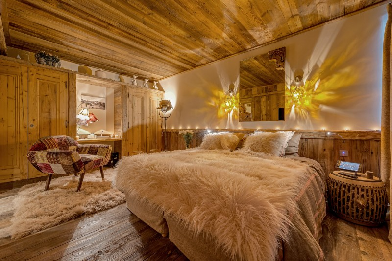 Val D'Isère Location Chalet Luxe Umbute Chambre 3