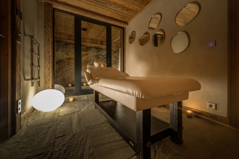 Val D'Isère Location Chalet Luxe Umbute Salle De Massage