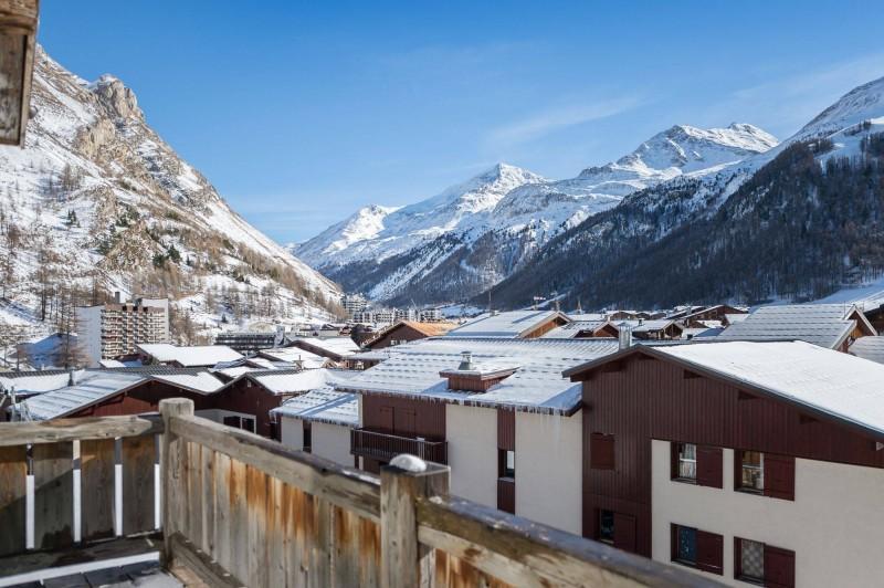 Val d'Isère Location Chalet Luxe Uralelite Balcon