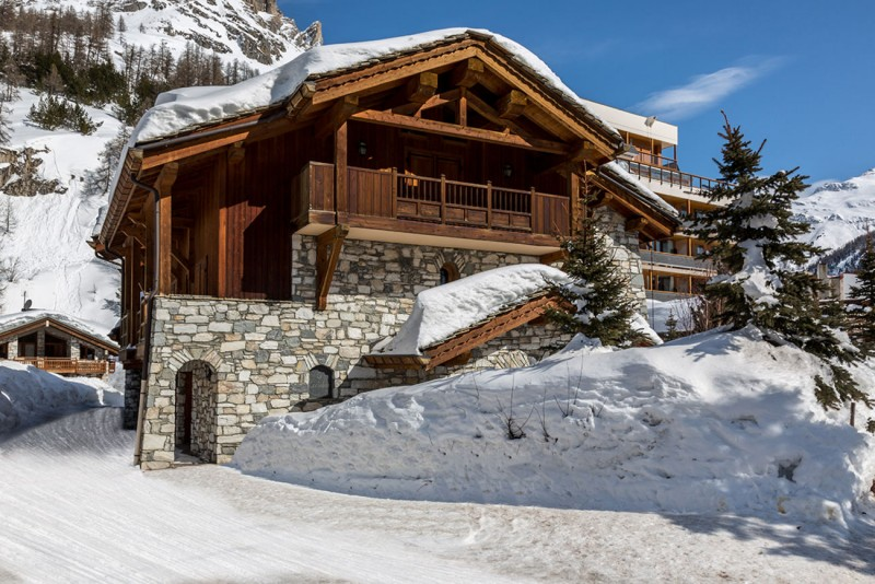 Val d'Isère Location Chalet Luxe Vabanite Extérieur