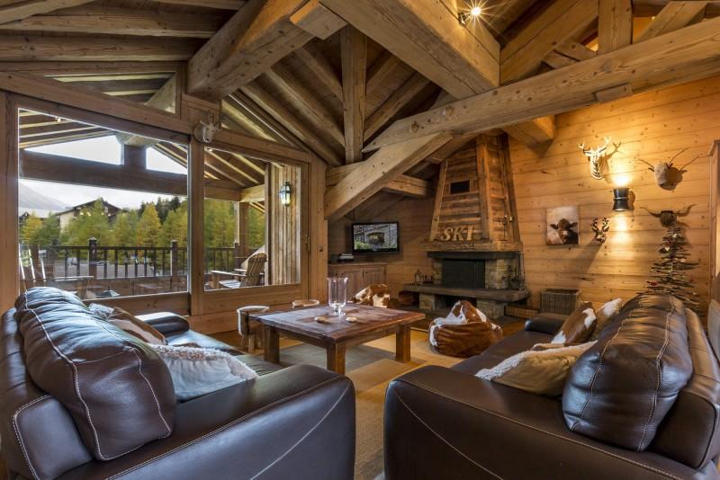 Val d'Isère Location Chalet Luxe Vabanite Séjour 2
