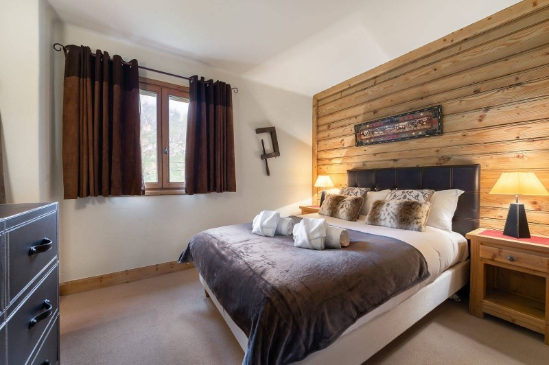 Val d'Isère Location Chalet Luxe Vabodia Chambre 2