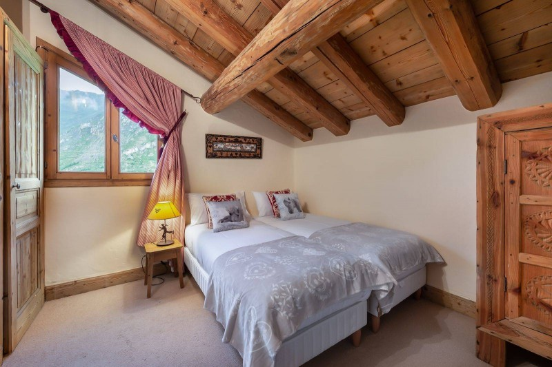 Val d'Isère Location Chalet Luxe Vabodia Chambre 5