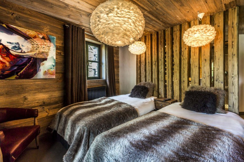 Val d'Isère Location Chalet Luxe Vasel Chambre 2