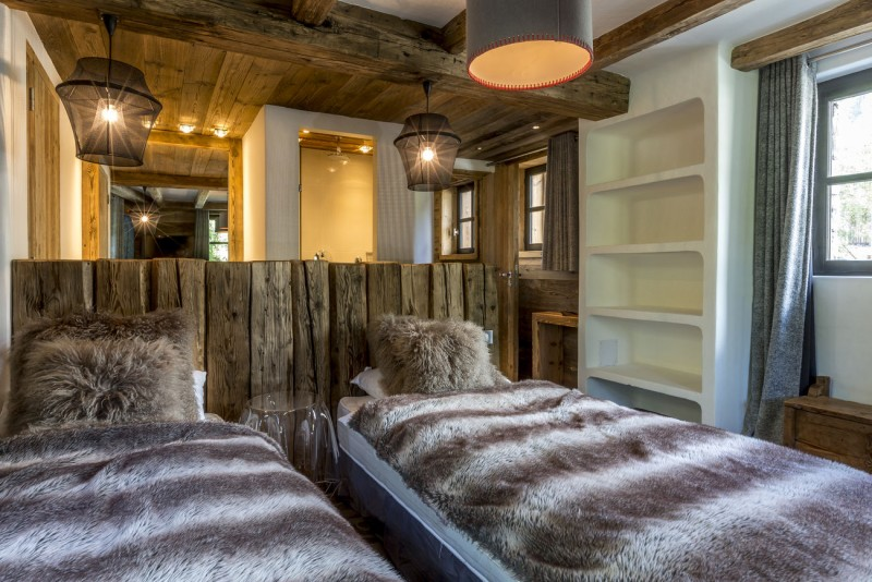 Val d'Isère Location Chalet Luxe Vasel Chambre 5
