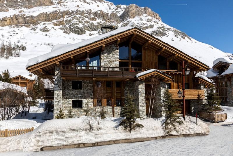 Val d'Isère Location Chalet Luxe Vasel Extérieur