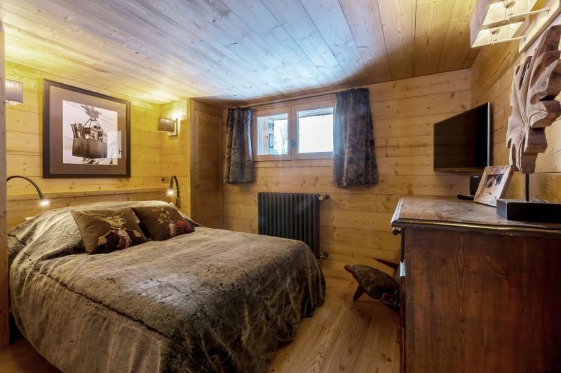 Val d'Isère Location Chalet Luxe Vauxate Chambre