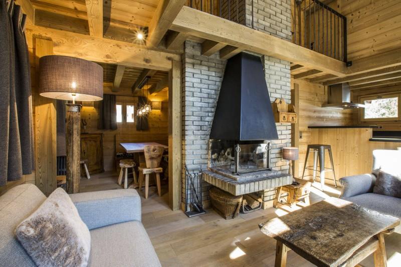 Val d'Isère Location Chalet Luxe Vauxate Séjour 3