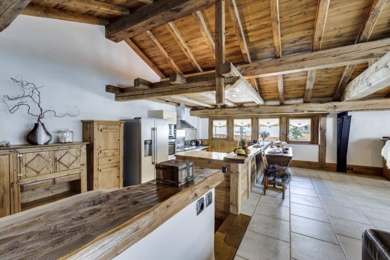 Val D'Isère Luxury Rental Chalet Vonsanite Kitchen 2