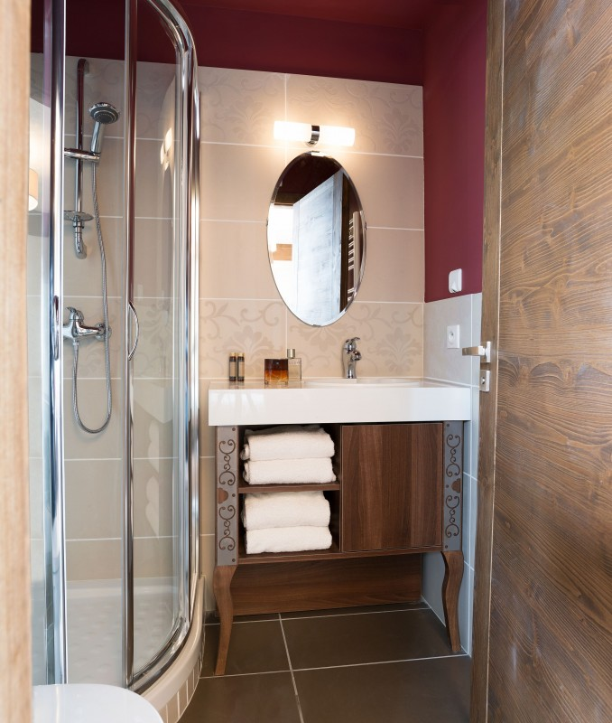 Val Thorens Rental Apartment Luxury Valekite Bathroom