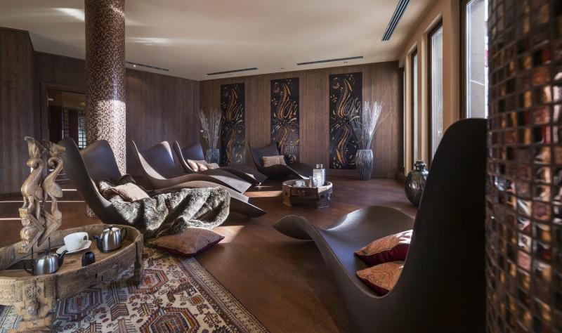 Val Thorens Rental Apartment Luxury Valikite Relaxation Area