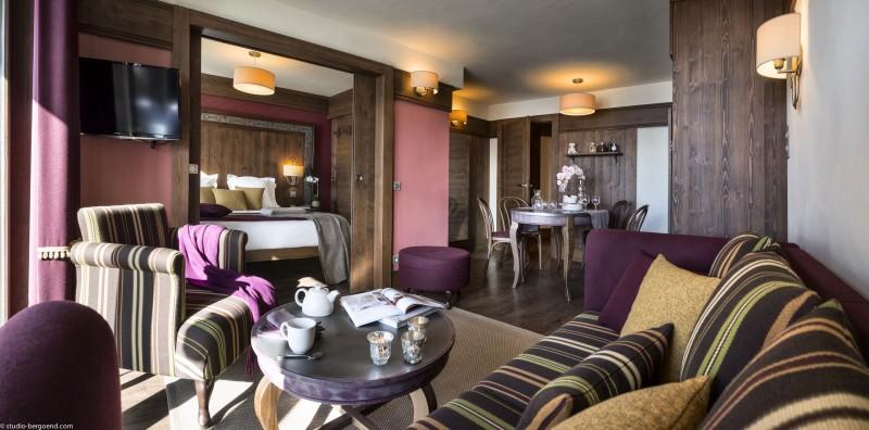 Val Thorens Rental Apartment Luxury Valikite Living Room