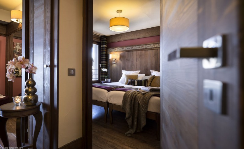 Val Thorens Location Appartement Luxe Valoukite Chambre 1