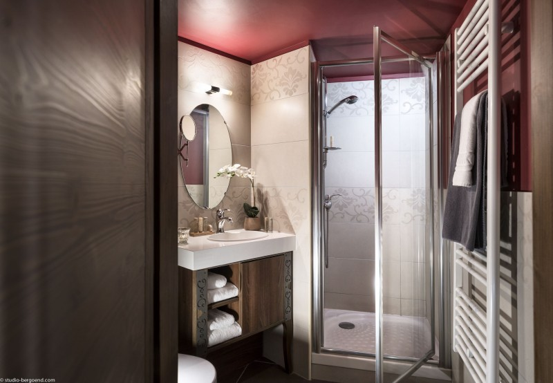 Val Thorens Location Appartement Luxe Valoukite Douche