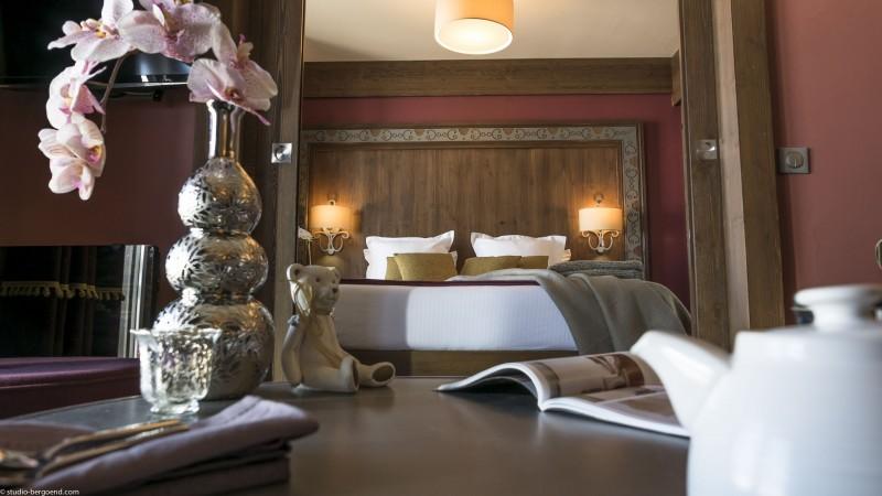 Val Thorens Rental Appatment Luxury Valykite Bedroom