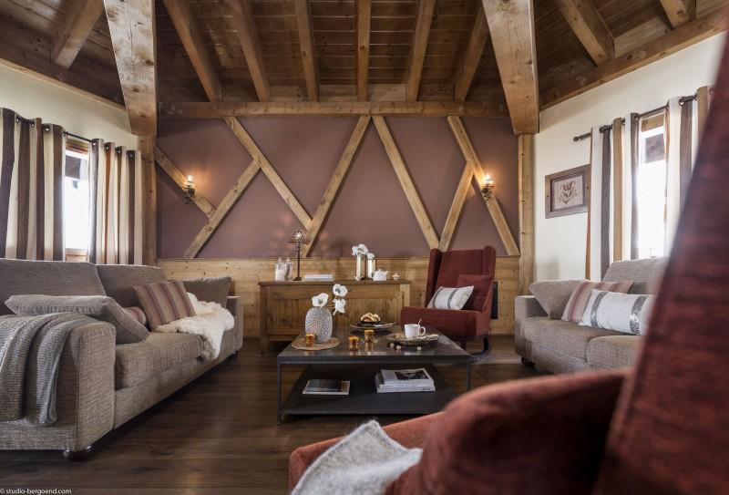 Val Thorens Rental Appartment Luxury Volfsinite Living Room