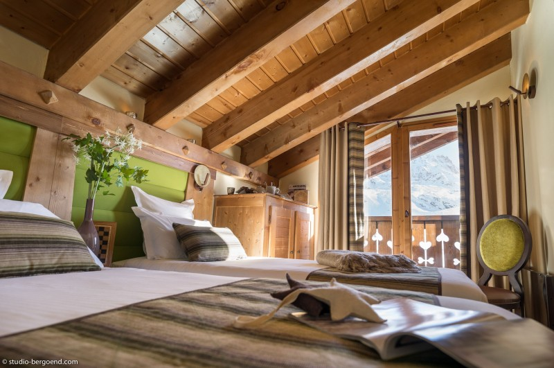 Val Thorens Location Appartement Luxe Volfsonite Chambre