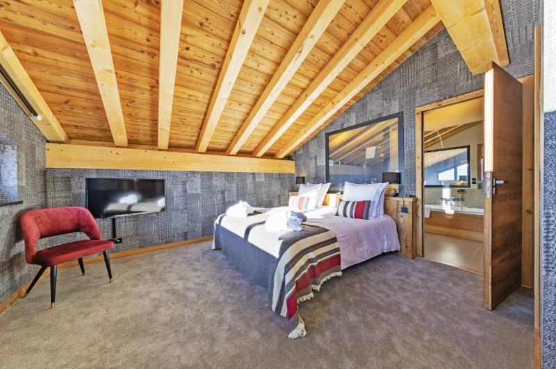 Val Thorens Luxury Rental Chalet Olidan Bedroom 3
