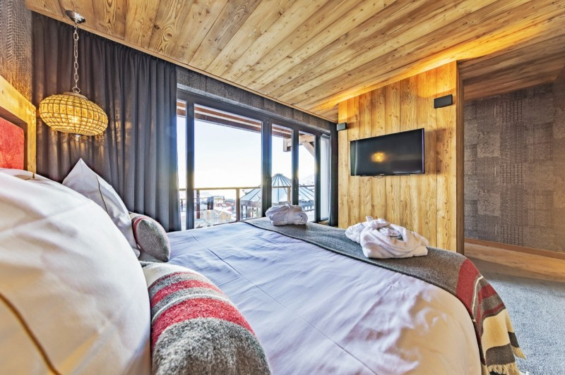 Val Thorens Luxury Rental Chalet Olidan Bedroom 4
