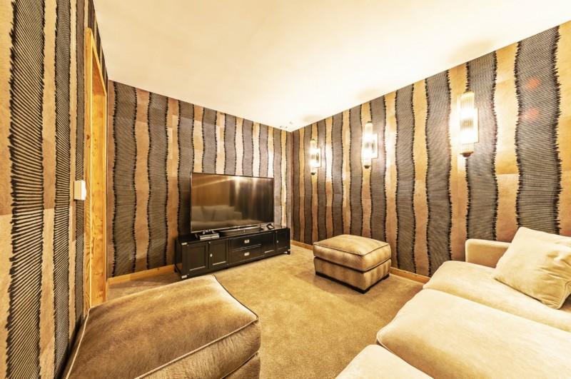 Val Thorens Luxury Rental Chalet Olidan Cinema Room