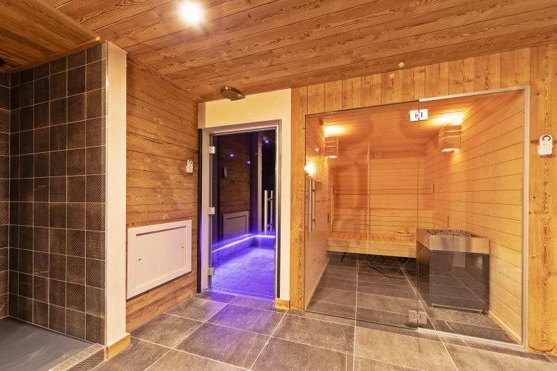 Val Thorens Luxury Rental Chalet Olidan Sauna