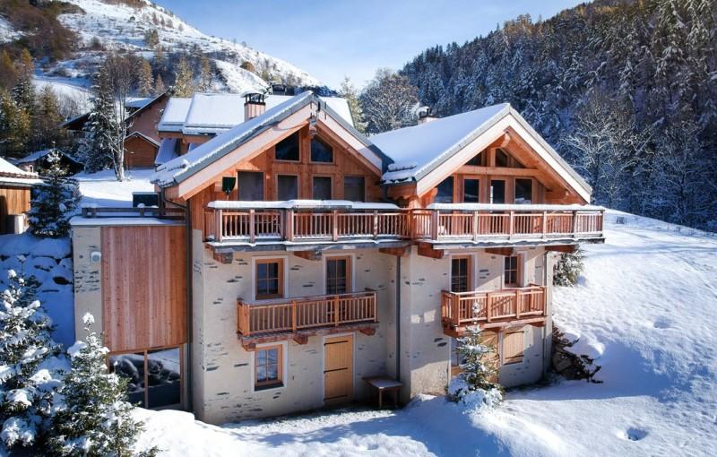 Valloire Luxury Rental Chalet Buglose Exterior