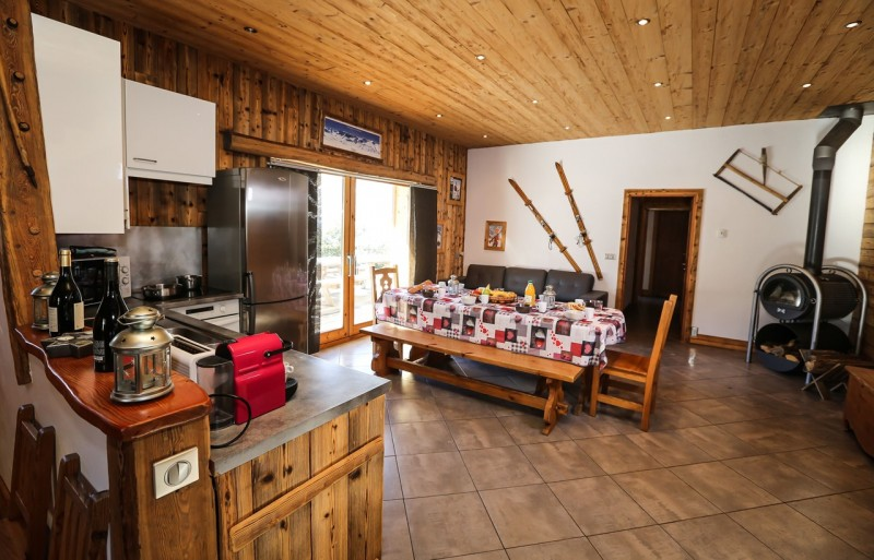 Valloire Location Chalet Luxe Topazy Salle à Manger 1
