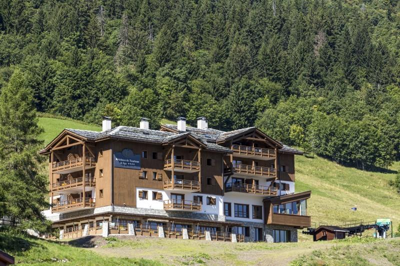 Valmorel Location Appartement Luxe Ferrucite Duplex Extérieur 5