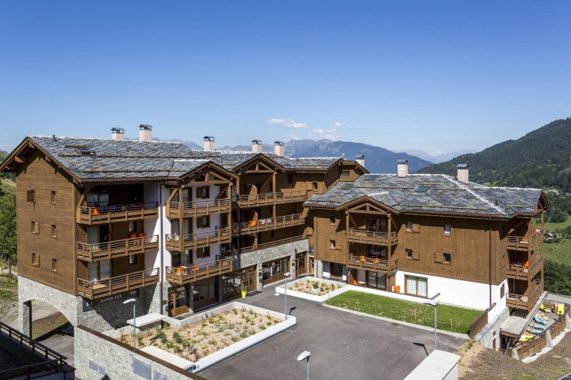 Valmorel Location Appartement Luxe Ferrucite Duplex Extérieur 8