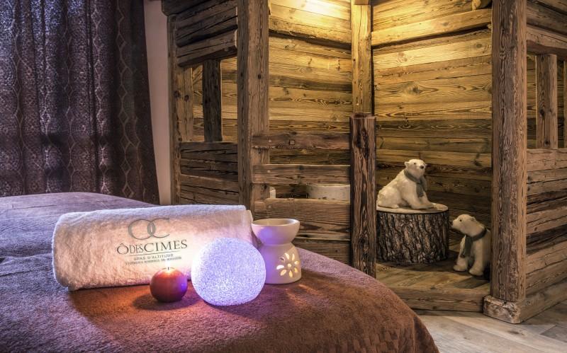 Valmorel Location Appartement Luxe Ferrucite Duplex Massage