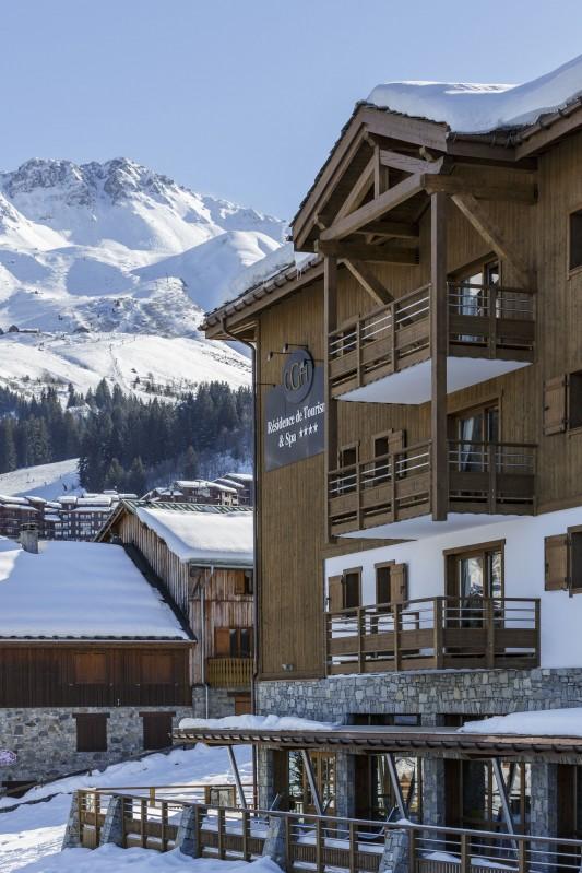 Valmorel Location Appartement Luxe Ferrucite Extérieur 3