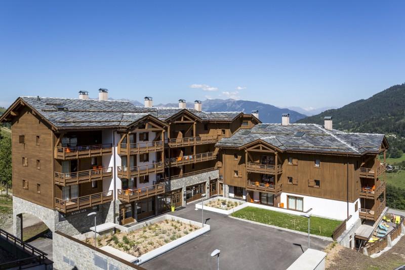 Valmorel Location Appartement Luxe Ferune Duplex Extérieur 7